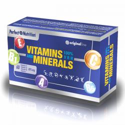 Vitamins & minerals - 60 cápsulas [Perfect]