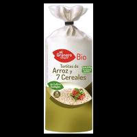 Tortitas de Arroz y 7 Cereales - 120g [El granero]