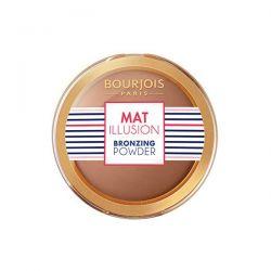Bourjois Mat Illusion Bronzing Powder 22 Hale Fonce Oscuro