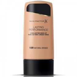 Max Factor Lasting Performance Base De Maquillaje 109 Natural Bronze