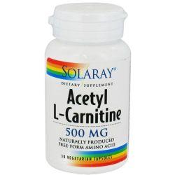 Acetil L-Carnitina 500mg - 30 vcaps