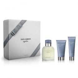 Dolce & Gabbana Light Blue Pour Homme Eau De Toilette Spray 125ml Set 3 Piezas