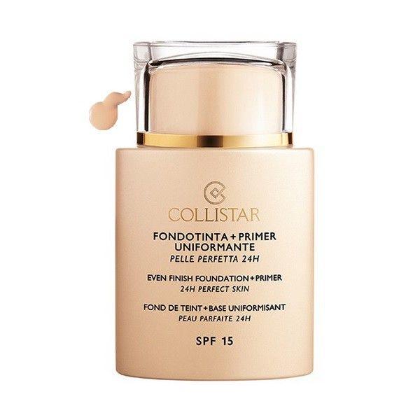 Collistar Even Finish Foundation Plus Primer 24h Perfect Skin Spf15 01 Ivory 35ml