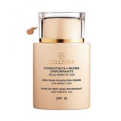 Collistar Even Finish Foundation Plus Primer 24h Perfect Skin Spf15 06 Sun 35ml