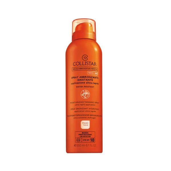 Collistar Perfect Tanning Moisturizing Spray Spf10 200ml
