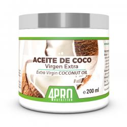 Aceite de Coco Virgen Extra - 200ml [4pro nutrition]