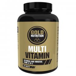 Multi Vitaminas - 60 tabletas [Gold Nutrition]