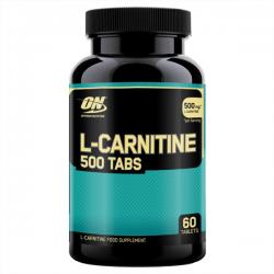L-Carnitina - 500 mg - 60 caps