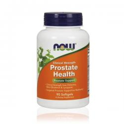 Clinical strength Salud de la próstata - 90 solfgels [Now]
