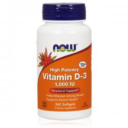 Vitamina d3 1000 iu - 360 softgels [Now]