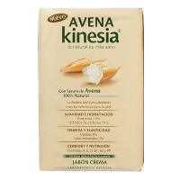 Avena Kinesia Jabón Pastilla Con Serum De Avena 100g