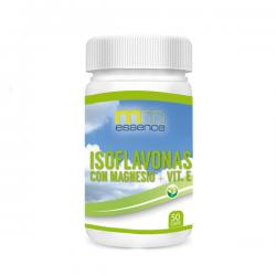 Isoflavonas con Magnesio + Vitamina E - 50 cápsulas [mm essence]