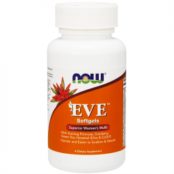 EVE (Multivitamínico para Mujer) - 180 softgels [now foods]