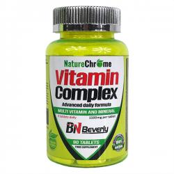 Complejo Multivitaminas - 90 tabletas [Beverly Nutrition]