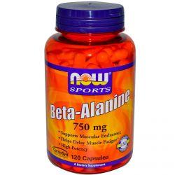 Beta Alanina 750mg - 120 caps