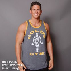 men's tanks muscle joe contrast athlete tank