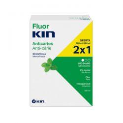 Kin Fluorkin Enjuague Bucal Diario 2x500ml