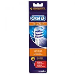 Oral B Recambio Cepillo Eléctrico Trizone 3 Unidades