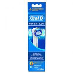 Oral-B Recambio Cepillo Eléctrico Precisión Clean 3 Recambios