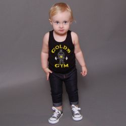 camiseta gym bebe cassic joe