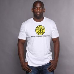 camiseta logo slogan