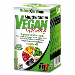 MultiVitamin Vegan Vitality - 80cápsulas vegetales [Beverly]