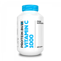 Vitamina C 1000 - 100 tabletas [Protein Buzz]