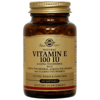 Vitamina E 100IU - 100 softgels [Solgar]