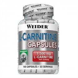 L Carnitina - 100 caps