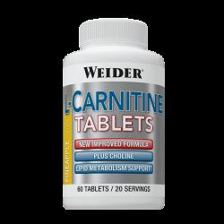 L-Carnitina Masticable - 60 tabletas [Weider]