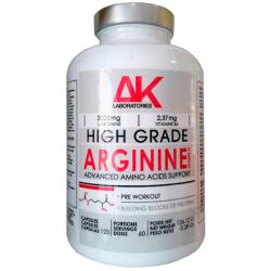 Arginina - 120 Cápsulas [AK Laboratories]
