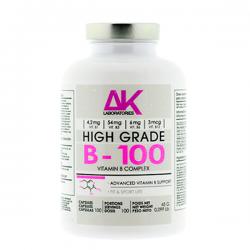 B - 100 (vitamin complex) - 100 Cápsulas [AK Laboratories]
