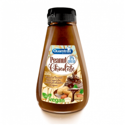 Crema de Cacahuete y Chocolate Vegano - 400g [Quamtrax Gourmet]