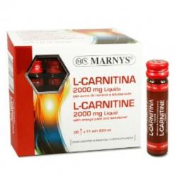 L - carnitine 2000 mg - 20 vials