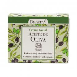 Crema Facial de Aceite de Oliva Bio - 50ml [Drasanvi]
