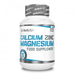 Calcio Zinc Magnesio - 100 Tabletas