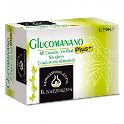 Glucomanano Plus - 60 Cápsulas [El Naturalista]