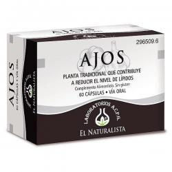 Ajos - 60 Cápsulas [El Naturalista]