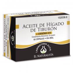 Aceite de Hígado de Tiburón - 60 Cápsulas [El Naturalista]