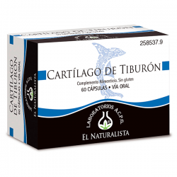 Cartílago de Tiburón - 60 Cápsulas [El Naturalista]