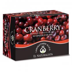 Cranberry - 60 Cápsulas [El Naturalista]