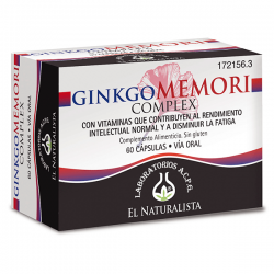 GinkgoMemori Complex - 60 Cápsulas [El Naturalista]
