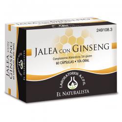 Jalea Real + Ginseng - 48 Cápsulas [El Naturalista]