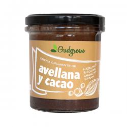 Crema Crujiente de Avenllana y Cacao - 300g [Gudgreen]