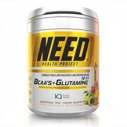 BCAAs + Glutamina - 300g [Need Health Project]