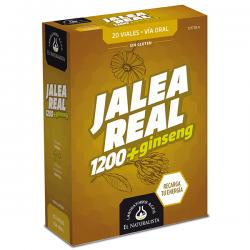 Jalea Real 1200 con Ginseng - 20 Viales [El Naturalista]