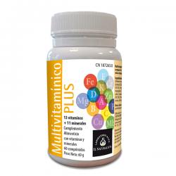 Multivitamínico Plus - 60 Comprimidos [El Naturalista]