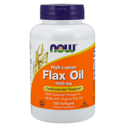 Flax oil 1000 mg high lignan - 120 softgels