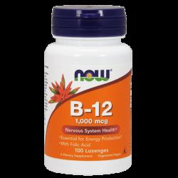 Vitamina B-12 1000 mcg  - 100 Pastillas [Nowfoods]
