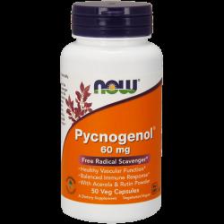 Pycnogenol 60mg - 50 Cápsulas Vegetales [Nowfoods]
